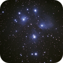 M45 Pleiaden,                                Tom