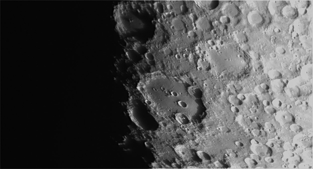 Clavius - 20190513 - Bresser 102/460,                                altazastro