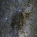Southern Cross and the Coalsack Dark Nebula,                                Cory Schmitz