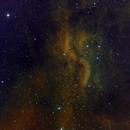 DWB 111 Propeller Nebula HaO3S2 Hubble Colors,                                Станция Албирео