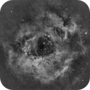 Rosette nebula in Ha (NGC 2244),                                Esko Tikkanen
