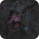 NGC 7000 wide field,                                Christoph Wetter