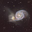 M51 the Whirlpool Galaxy,                                hbastro
