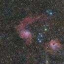 IC 405 & IC 410 Nébuleuse de l'étoile flamboyante,                                Stéphane GONZALEZ