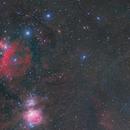 Orion Nebula,                                Yuichi Kawamoto