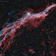 NGC6960 veil nebula HOO,                                Caroline Berger