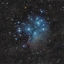 M45  EF200 f/2.8  /  ATIK ONE  /  AZEQ6 (unguided),                                Pulsar59