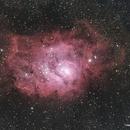 M8 Lagoon Nebula,                                Francesco di Biase