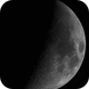 Moon -  06/12/2016 with deep sky CCD,                                Le Mouellic Guill...