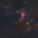 Sh2-155, Caldwell-9, Cave Nebula,                                Kathy Walker