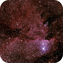 NGC6188 - Gum 53 - RCW108 - Rim Nebula in Ara,                                Geoff Scott