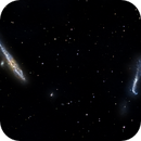 NGC 4631 and NGC 4656 - The Whale and Hockey Stick Galaxies,                                Timothy Martin & Nic Patridge