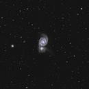 Messier 51,                                Peter Schmitz