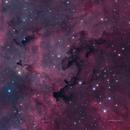 Dark Nebula LDN881 in Hα-SII/OIII/OIII+rgb,                                Jose Carballada