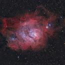 M8 - Lagoon Nebula,                                John Landreneau