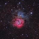 M20 - The Trifid Nebula in Sagittarius,                                CrestwoodSky