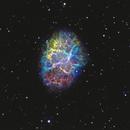 M1 - The Crab Nebula,                                David Schlaudt