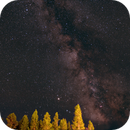 Milky Way Images - Yellowstone,                                Kurt Zeppetello