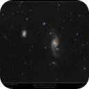 Galaxies NGC 3729 & NGC 3718 in Ursa Major,                                Mike Oates