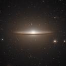 The Sombrero Galaxy in LRGB,                                Alex Roberts