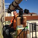 Premières lumières de mon nouvel observatoire,                                William Guyot-Lénat