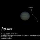 Jupiter 28 August 2009,                                Konstantinos Stav...