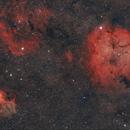 Sh2-132(Leon Nebula) Sh2-134 – IC1396,                                Giorgio Ferrari