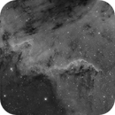 The Cygnus Wall in NGC 7000,                                Avogadro Observatory