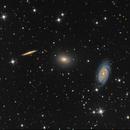 Draco Triplet - NGC5982, NGC 5985, NGC 5981,                                Giosi Amante