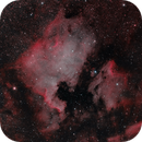 The North America & Pelican Nebula in HOO,                                Marcel Nowaczyk