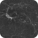Catfish face nebula Simeis 147 and SH2-240,                                keithlt