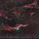 The Western Veil Nebula in H-alpha,                                wjlee
