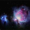 The Orion and Running Man Nebula,                                Tom Wildoner