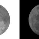 Lune 1er septembre 2020 - Pleine lune @ H-9,                                Ariel
