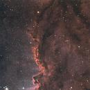NGC 6188 - The Rim Nebula,                                @maddie_astro