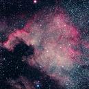 NGC 7000 - North America Nebula,                                Niklas Henricson
