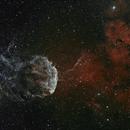 JellyFish Nebula Bi-Colour ( SII & Ha ),                                Chris