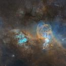 Starry NGC 3576 & 3603,                                Ignacio Diaz Bobillo