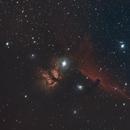 Flame & Horsehead Nebulae,                                Shawn Harvey