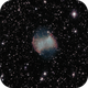 "Dumbbell nebula M27 with a SW114/450-""Newton"",                                Doc_HighCo"