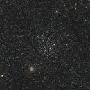M 35 and NGC 2158,                                Elmiko