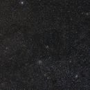 Some open clusters in Cassiopeia,                                David Cocklin