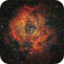 NGC 2244 ( First light for my new 72ED ).,                                Ofiuco