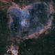 """IC1805 """"The Heart Nebula"""" SHO Palette,                                jmfloater"""