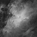 Eagle Nebula (Ha),                                John Renaud