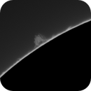 Small prominence animation 5/27/2020,                                rigel123