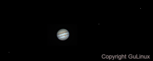 Jupiter animation frame (2) - 09/04/2017,                                Marco Gulino