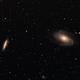 M81 et M82,                                ic3rus
