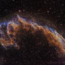 NGC 6992 Hubble palette,                                FrancescoTallarico