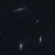 Leo Triplet M65 M66 NGC 3628,                                Michel Lakos M.